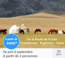 Ouzbékistan - Kirghistan - Chine