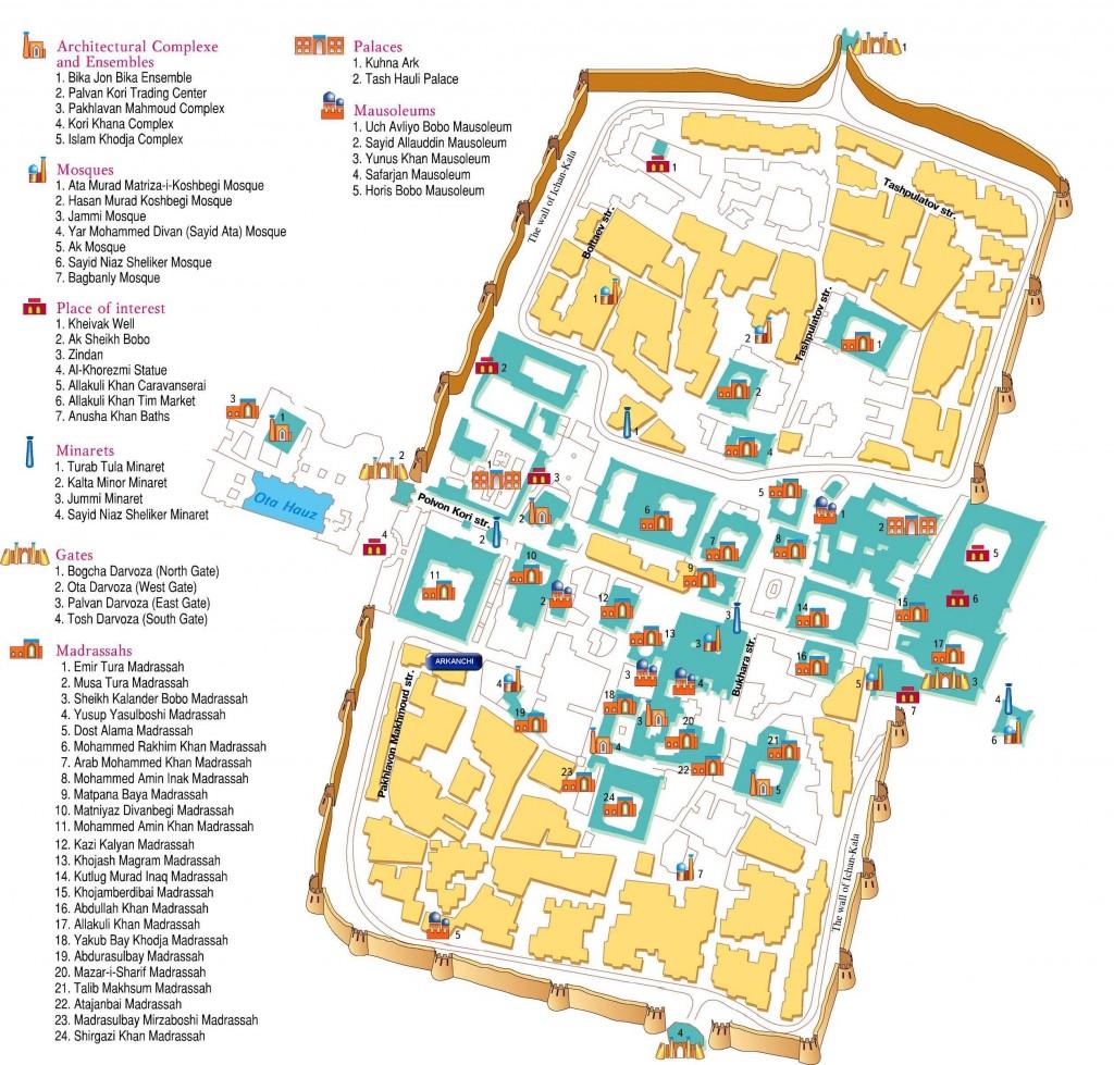 Plan_Khiva