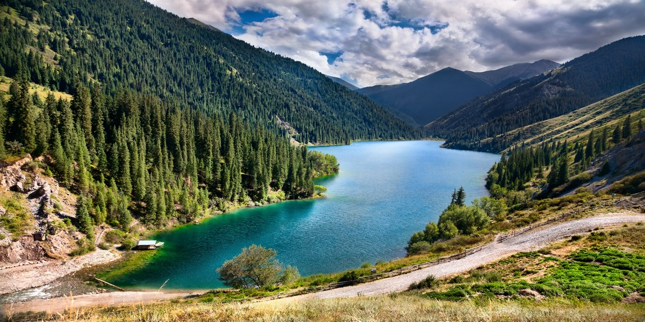 Kirguistan – Kazakhstan – Turkménistan – Ouzbékistan