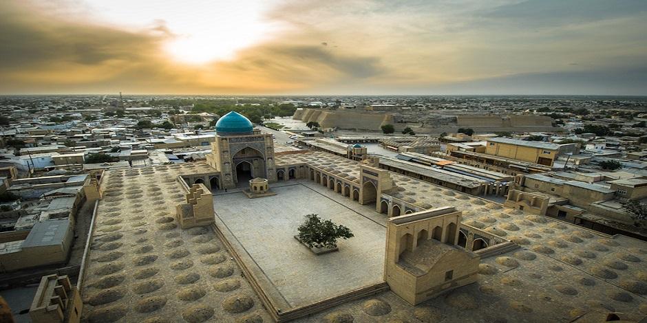 Boukhara : vue panoramique
