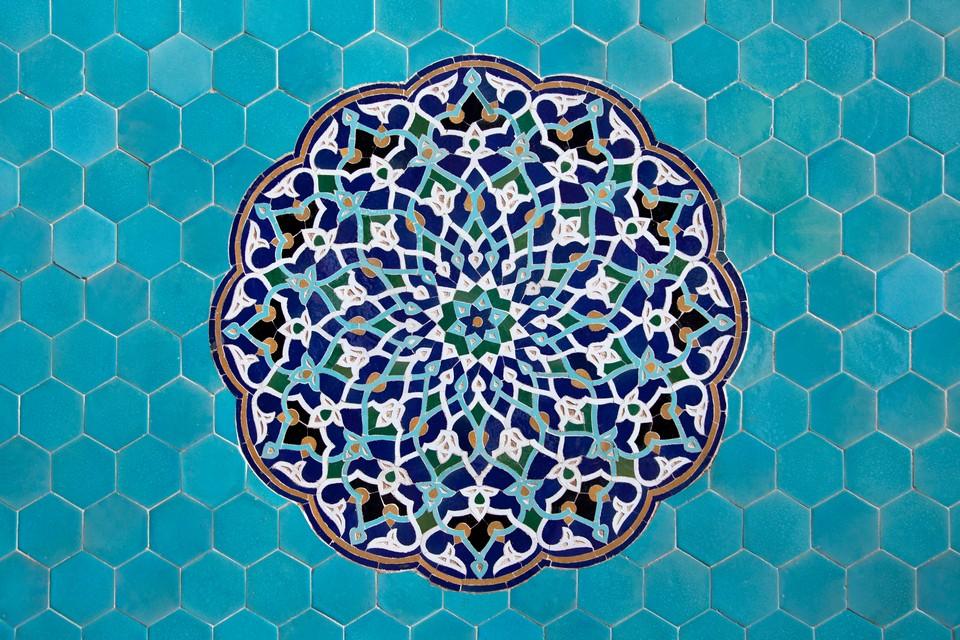 Mosaïque de Mosquée