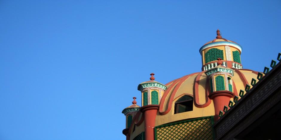 Architecture de Mosquée au Xinjiang