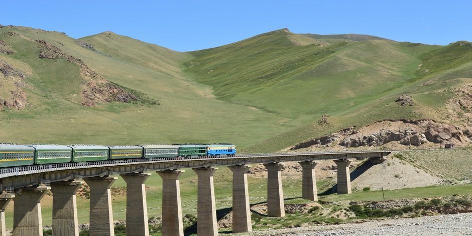 Train dans le Xinjang