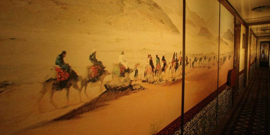 Couloir des wagons catégorie Calife