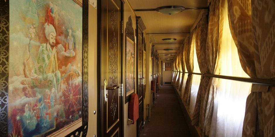 Couloir des wagons catégorie Aladin