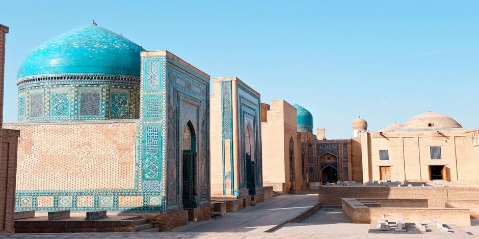 Shahi-Zinda Nécropole à Samarkand