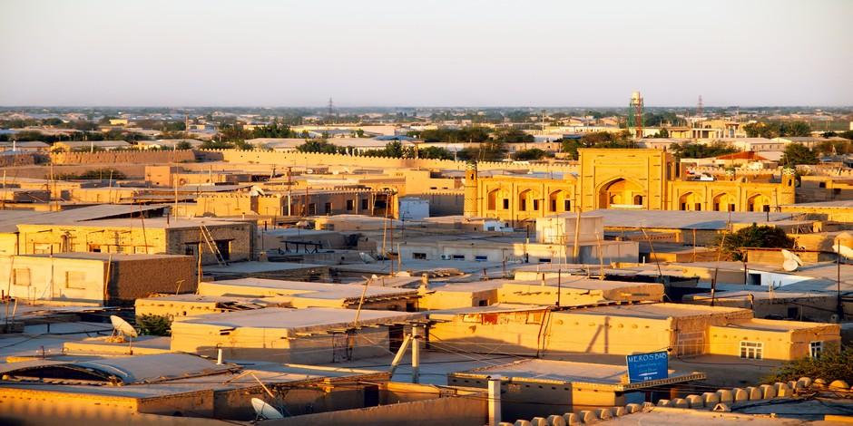 Khiva sur les toits