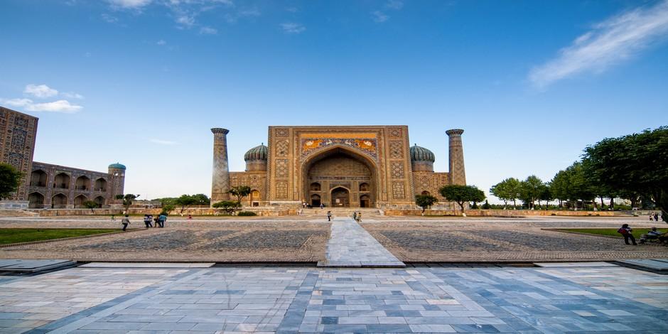 Square Registan à Samarkand