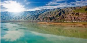 Lac du Tadjikistan en Asie Centrale