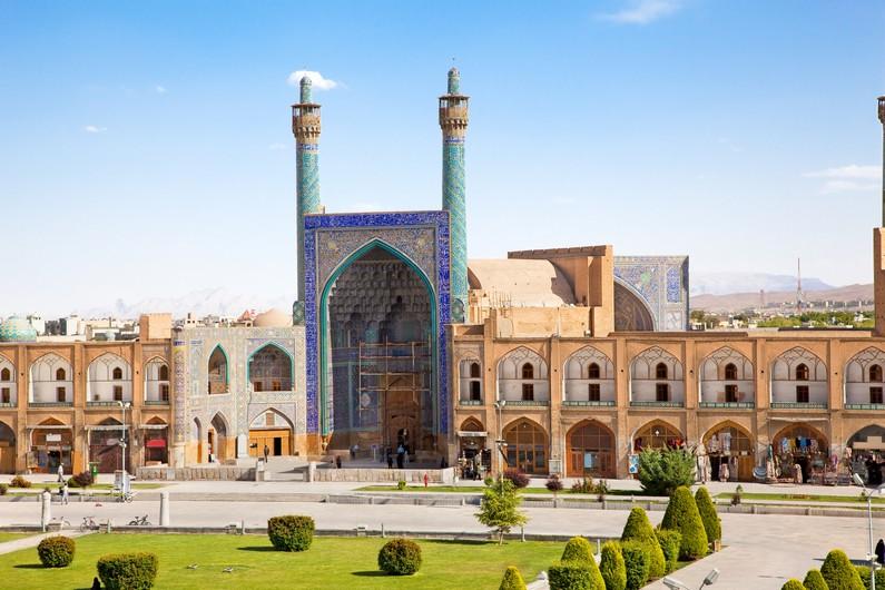 Mosquée sur Naqsh-i Jahan
