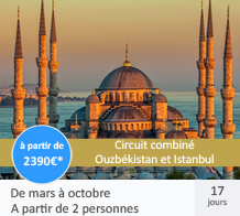 Voyage combiné Ouzbékistan et Istanbul
