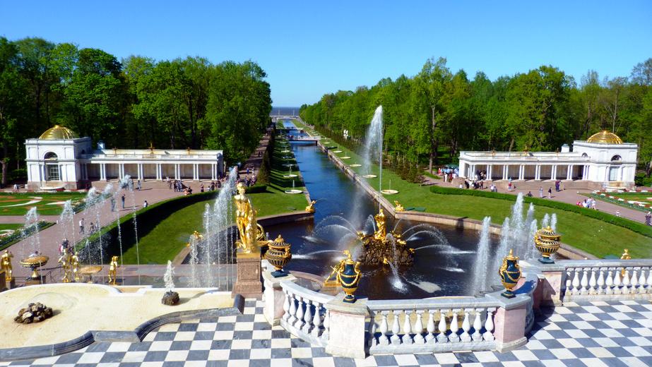 Jardins du Palais Peterhof