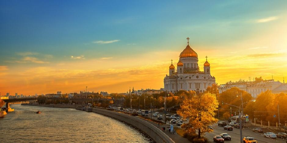 Moscou vu du fleuve