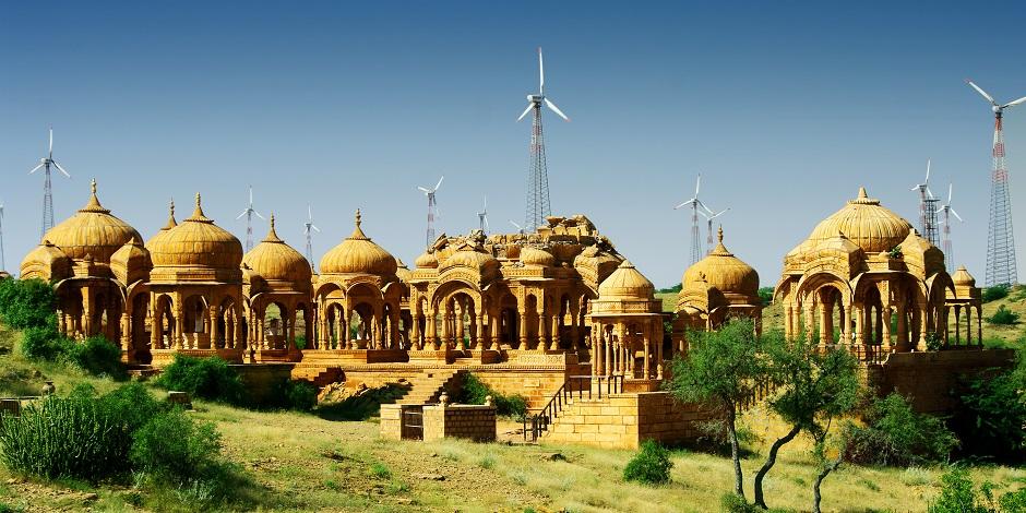 Nécropolis près de Jaisalmer