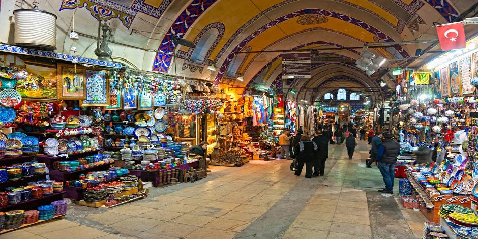 Souk historique d'Istanbul