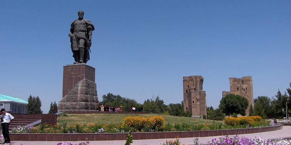 Place centrale de Chakrisabz