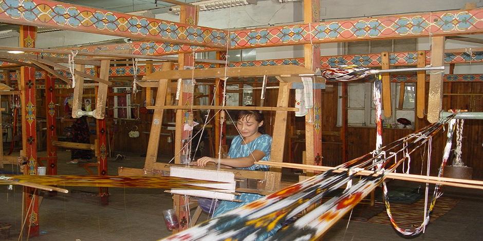 Fabrique de soie a Marguilan