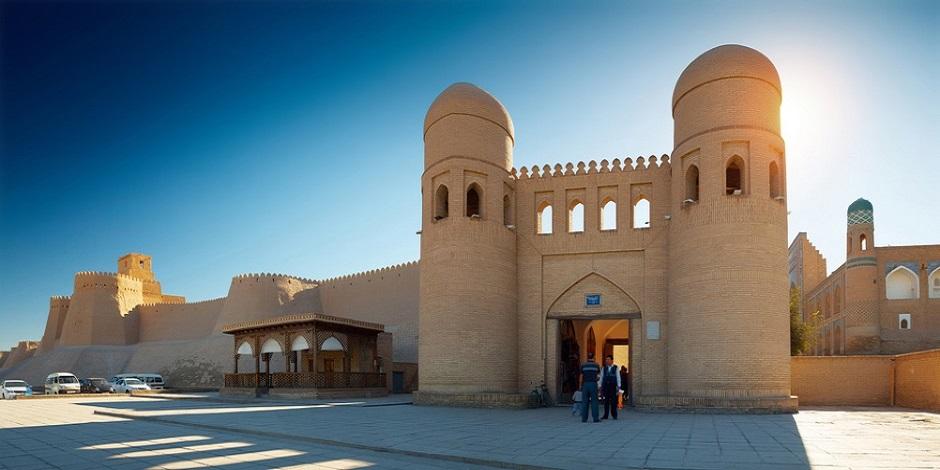 Porte pour rentrer dans la citadelle