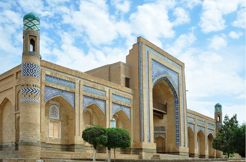 Une mosquée de Khiva