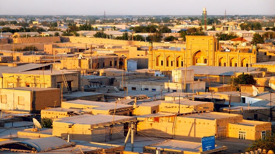Khiva vue des toits