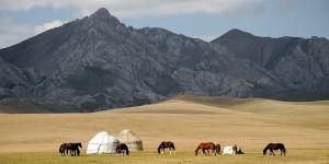 Kirghistan en Asie Centrale