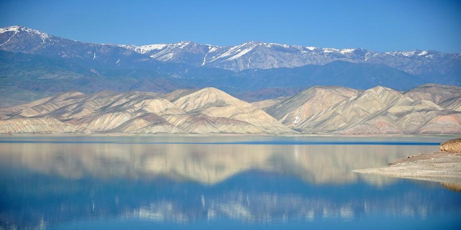 Encore le lac de Toktogul