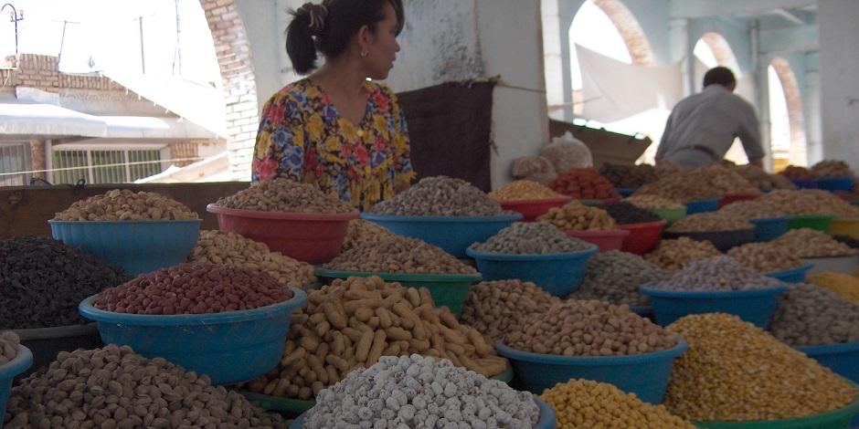 Le marché de la ville