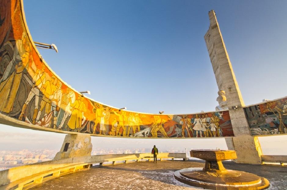 Memorial Zaisan à Ulan Bator