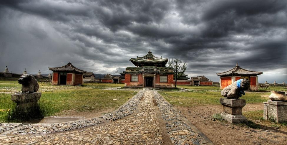 Monastère Erdene Zuu à Karakorum