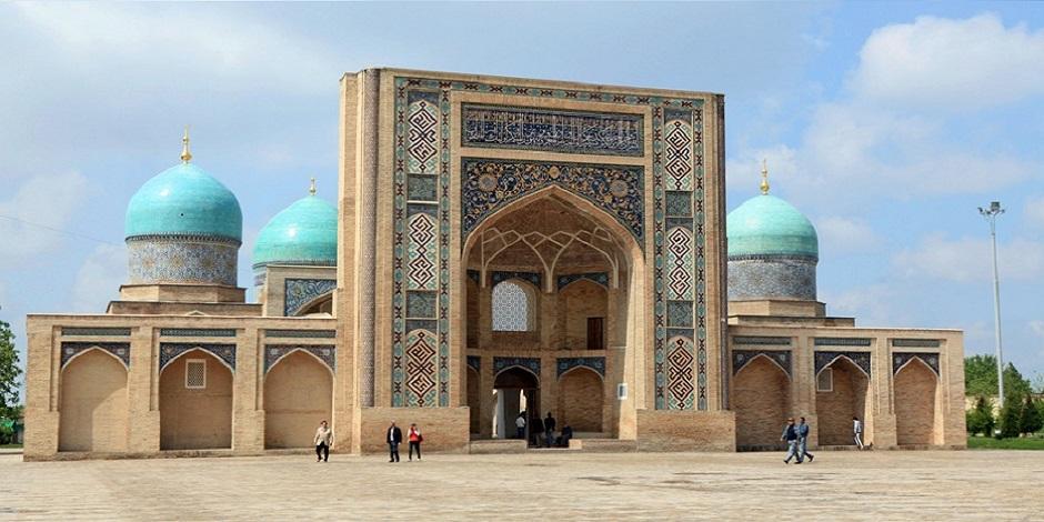 Mosquée à l'architecture caractéristique