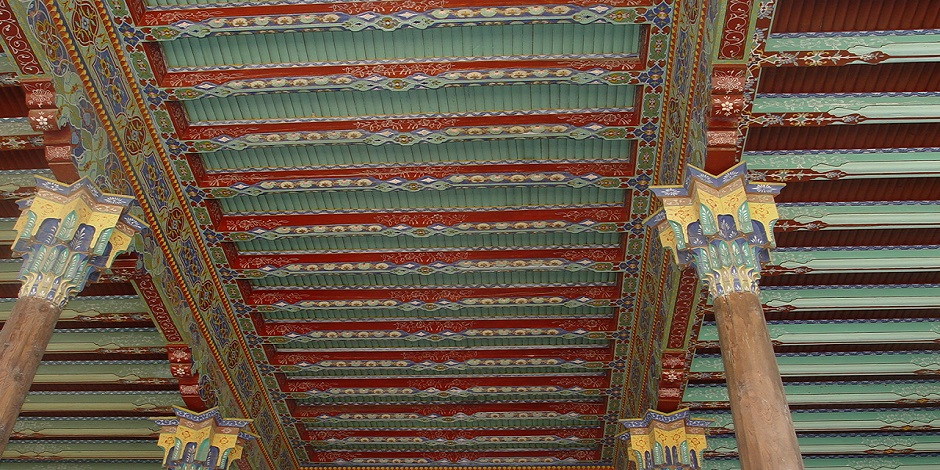 Plafond du Palais Khoudoyarkhan