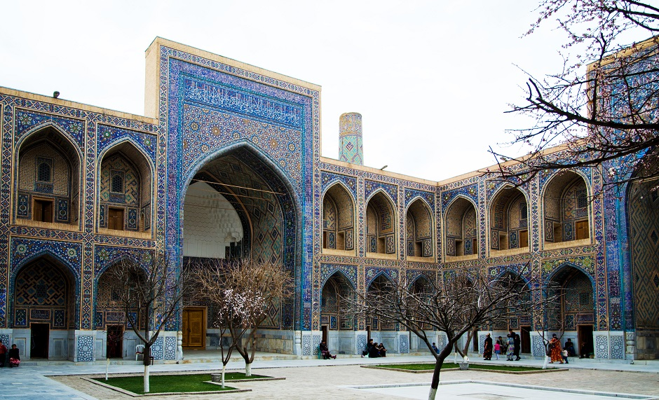 J4 : Samarkand - Camp des Yourtes