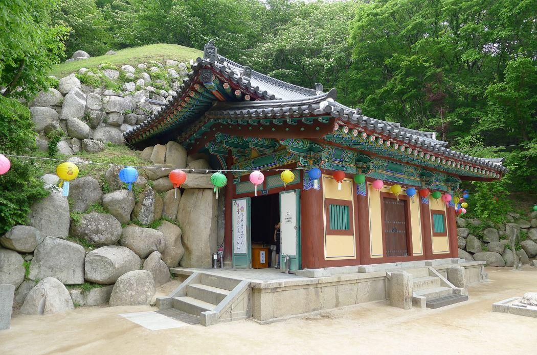 Antichambre de la grotte de Seokguram