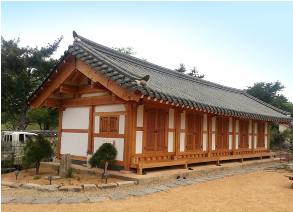 Hanok traditionnel à Gyeongju