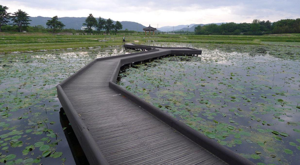 Plan eau Gyeongju