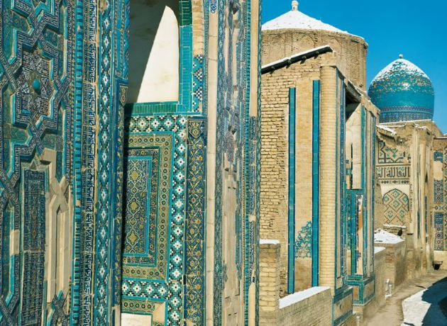J1&2 : Paris - Taschkent - Samarkand