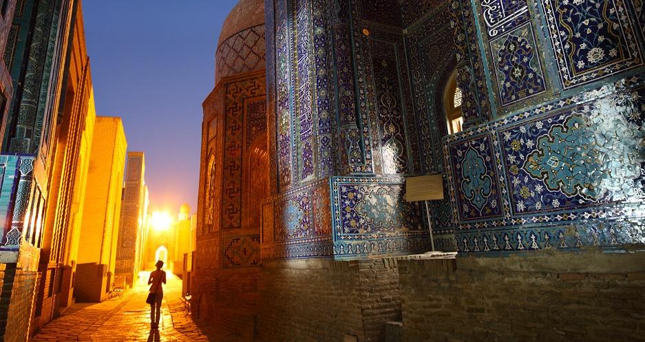 Shah-i-Zinda la nuit